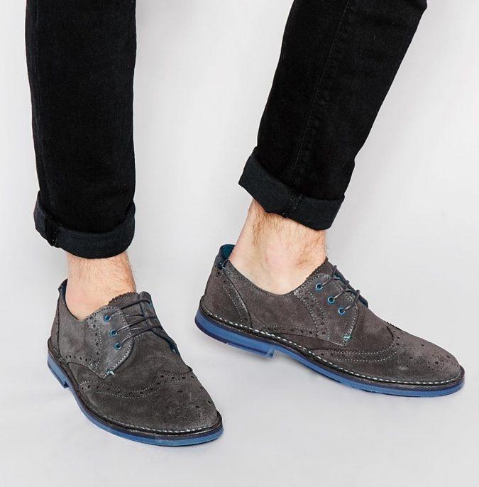 Suede-Derbies-shoes4-1-675x686 Elegant Fashion Trends of Men Summer Shoes 2017