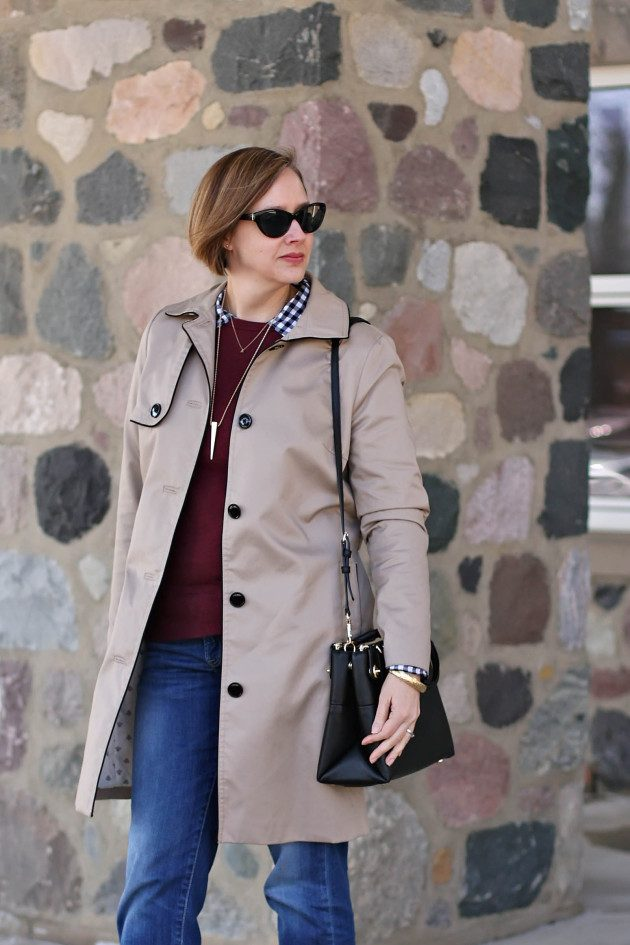 Trench 6 Fabulous Outfits for Women Over 40