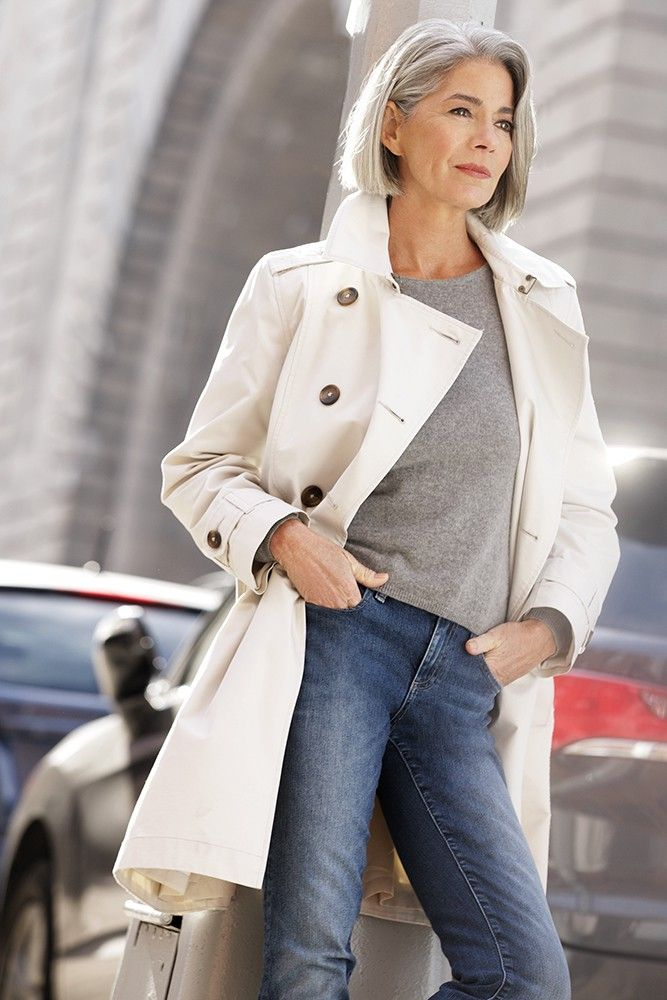 Trench3 6 Fabulous Outfits for Women Over 40