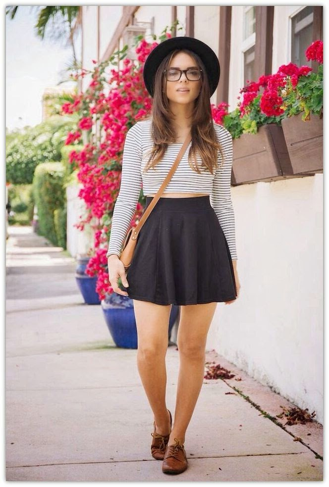 Womens-Hipster-2015-Best-Looks-19 40 Elegant Teenage Girls Summer Outfits Ideas in 2018