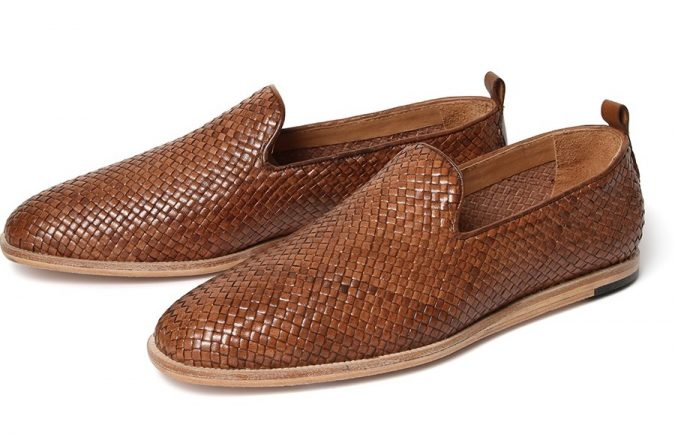 Woven-Slip-Ons-1-675x434 Elegant Fashion Trends of Men Summer Shoes 2018