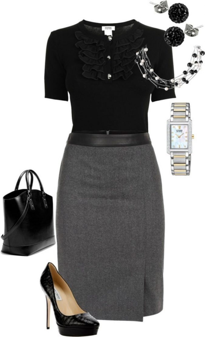 accessories-for-work-675x1109 18 Work Outfits Every Working Woman Should Have