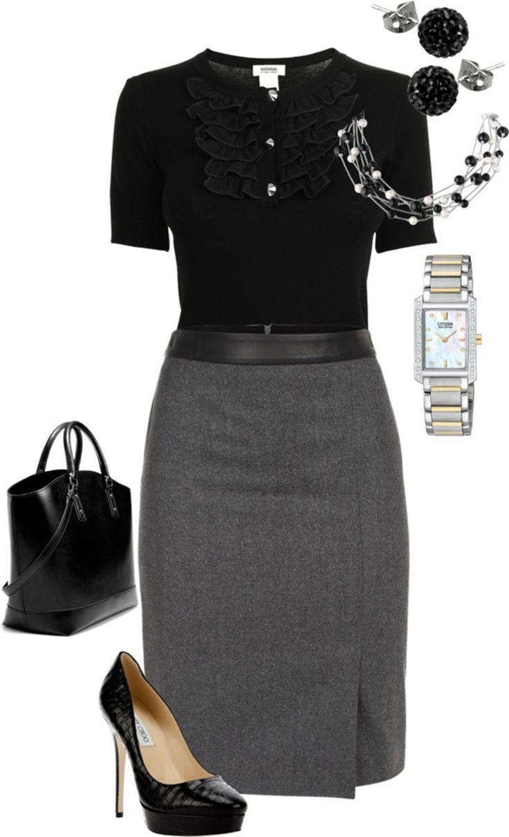 Fashionable office attire for women 2