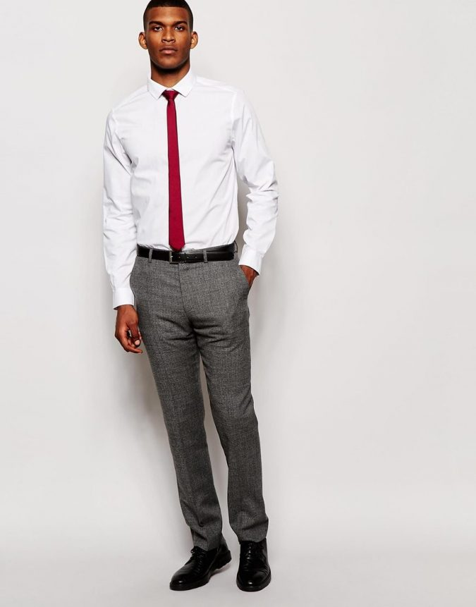 asos-white-smart-shirt-and-tie-set-save-13-product-3-689175819-normal-675x861 What to Wear for a Teenage Job Interview