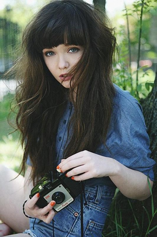 bangs-2 28 Hottest Spring & Summer Hairstyles for Women 2018