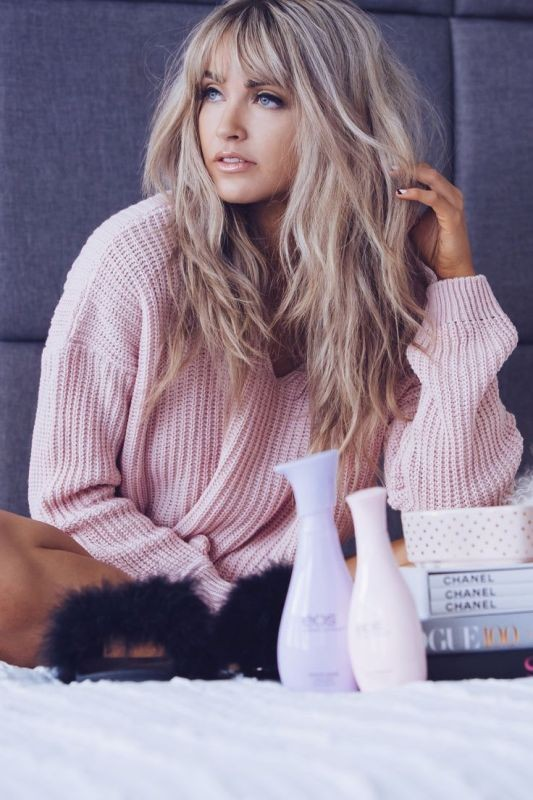 bangs-5 28 Hottest Spring & Summer Hairstyles for Women 2018