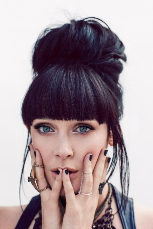 bangs-7 28 Hottest Spring & Summer Hairstyles for Women 2020
