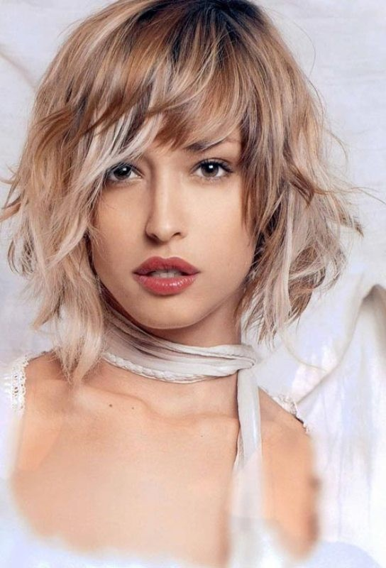 bangs-8 28 Hottest Spring & Summer Hairstyles for Women 2018