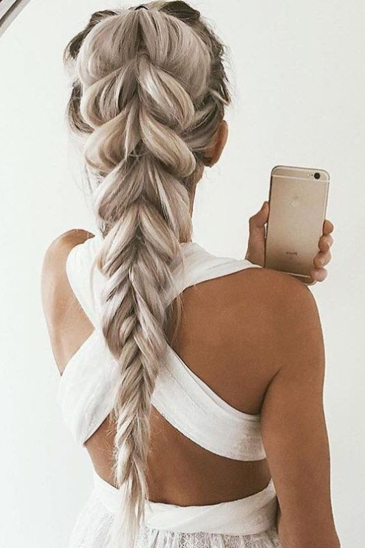big-braids-6 28 Hottest Spring & Summer Hairstyles for Women 2020