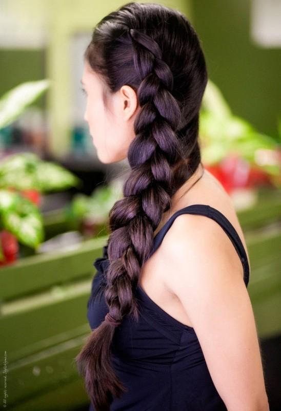 big-braids-7 28 Hottest Spring & Summer Hairstyles for Women 2018
