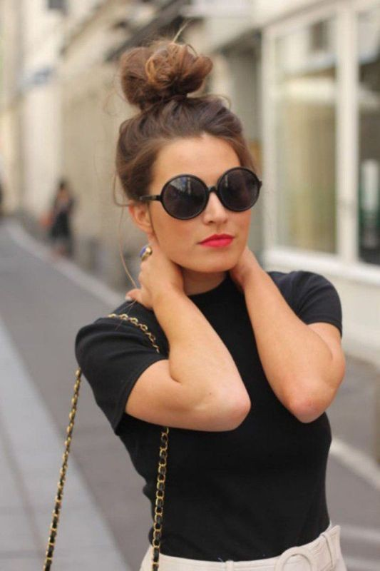 buns-1 28 Hottest Spring & Summer Hairstyles for Women 2018