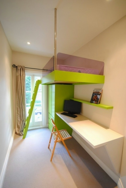 ceiling-bed 83 Creative & Smart Space-Saving Furniture Design Ideas in 2018