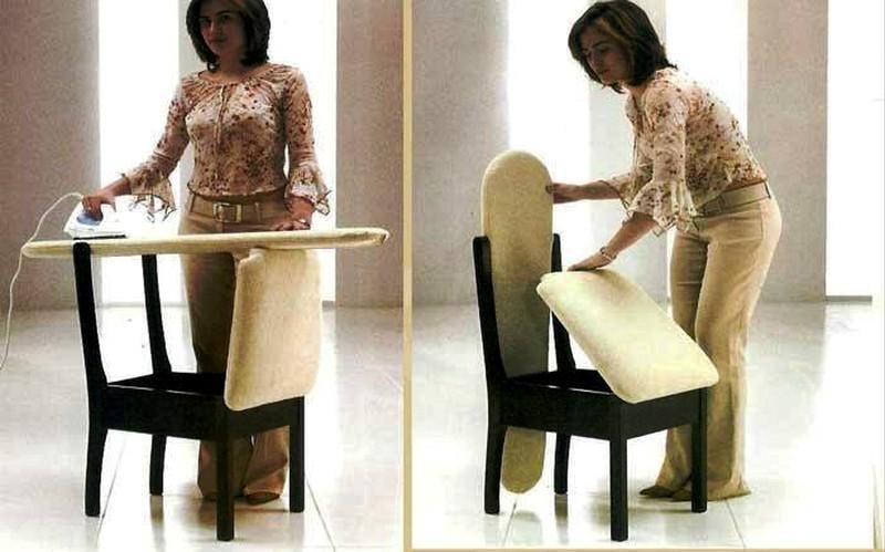chair-iron-table 83 Creative & Smart Space-Saving Furniture Design Ideas in 2020