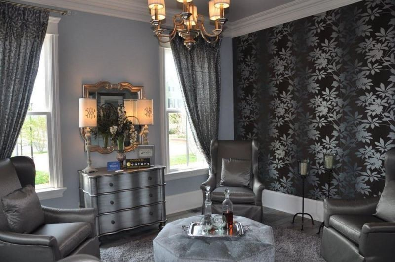 charcoal-and-light-gray-11 +40 Latest Home Color Trends for Interior Design in 2021