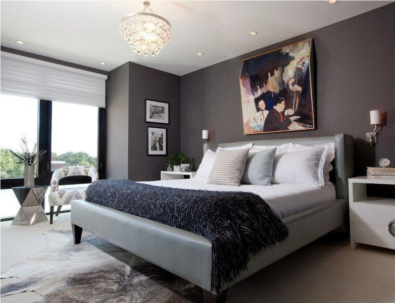 charcoal-and-light-gray-12 +40 Latest Home Color Trends for Interior Design in 2021