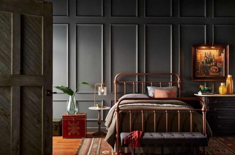 charcoal-and-light-gray-14 Newest Home Color Trends for Interior Design in 2018