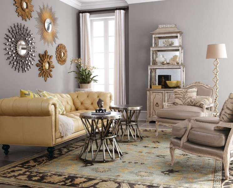 charcoal-and-light-gray-8 +40 Latest Home Color Trends for Interior Design in 2021