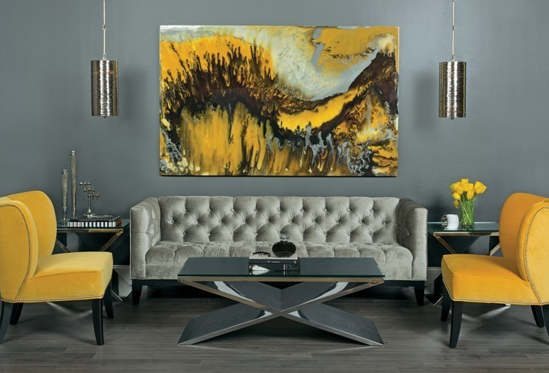 charcoal-and-light-gray-9 +40 Latest Home Color Trends for Interior Design in 2021
