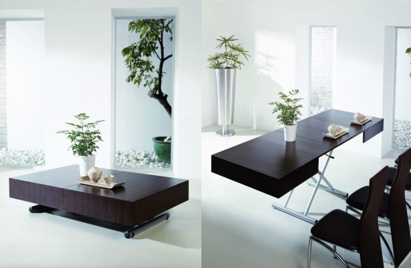 coffee-table-dining-table 83 Creative & Smart Space-Saving Furniture Design Ideas in 2018