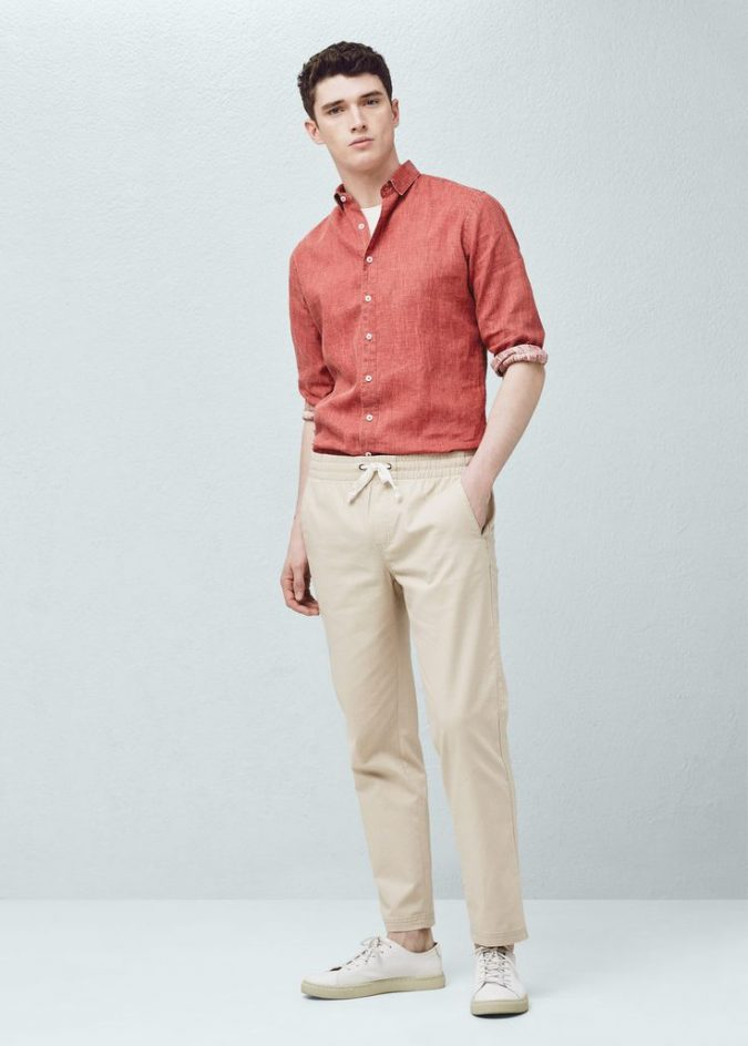 colorful-linen-shirt-675x944 10 Most Stylish Outfits for Guys in Summer 2018