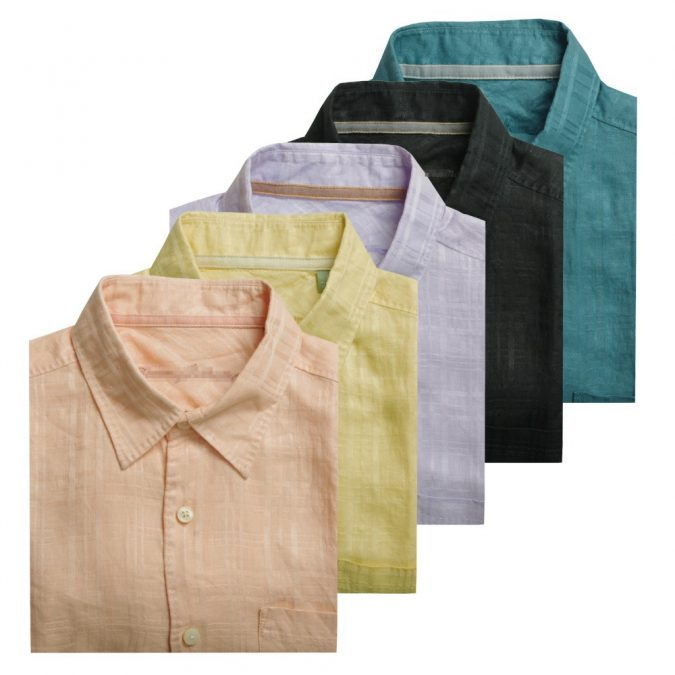 colorful-linen-shirts-675x675 10 Most Stylish Outfits for Guys in Summer 2018