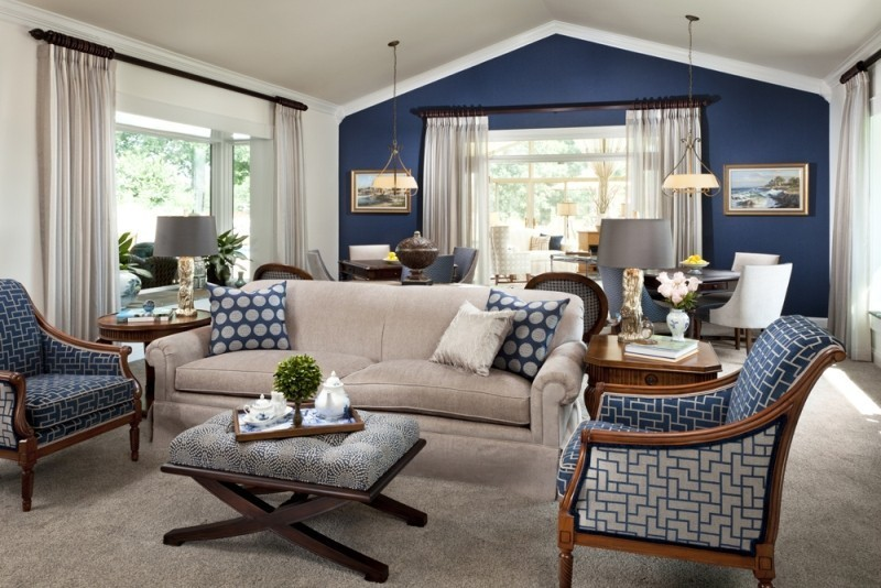 different-shades-of-blue-25 Newest Home Color Trends for Interior Design in 2018