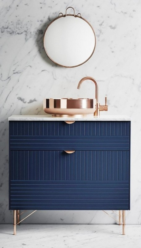 different-shades-of-blue Newest Home Color Trends for Interior Design in 2019