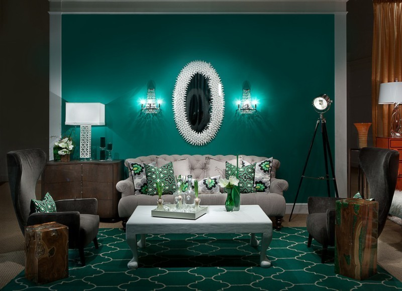 different-shades-of-green-14 Newest Home Color Trends for Interior Design in 2019