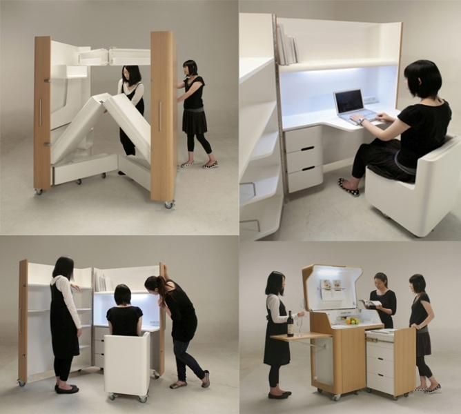 entnire-rooms-that-you-can-fold-up 83 Creative & Smart Space-Saving Furniture Design Ideas in 2018