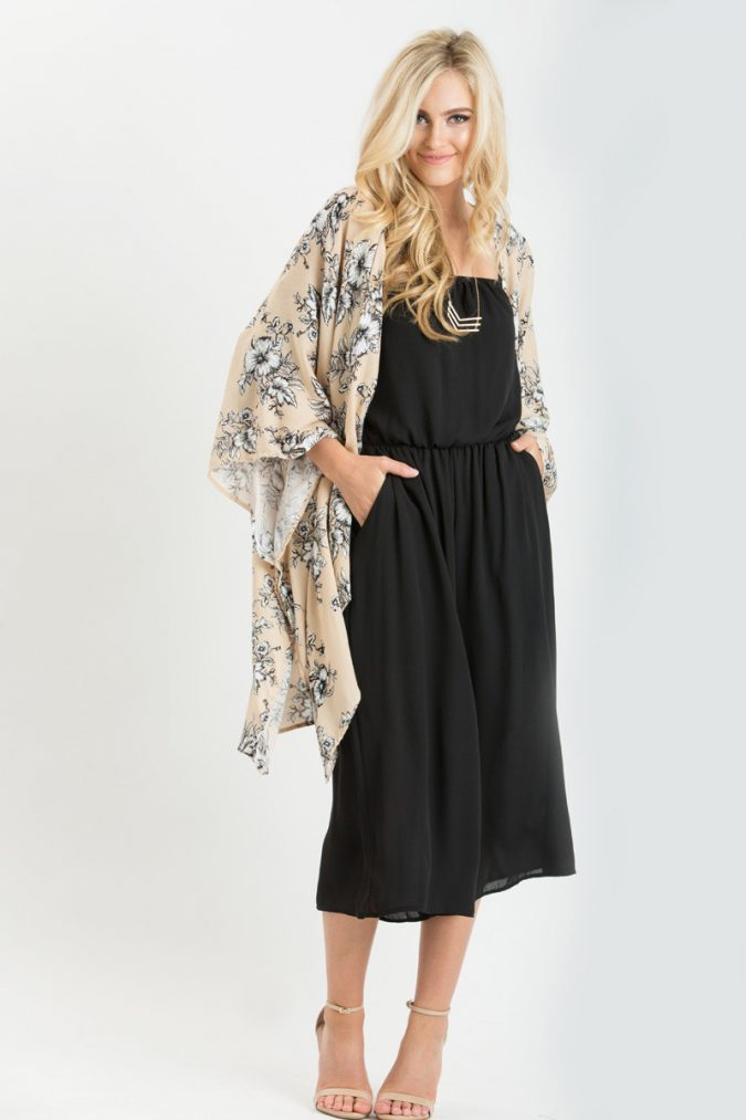 floral-kimono-for-women-675x1013 +40 Elegant Teenage Girls Summer Outfits Ideas in 2021