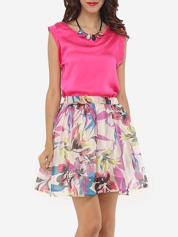 floral-skirt-top-Favim.com-4523124 +40 Elegant Teenage Girls Summer Outfits Ideas in 2021