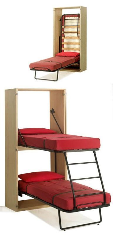 foldable-beds 83 Creative & Smart Space-Saving Furniture Design Ideas in 2018