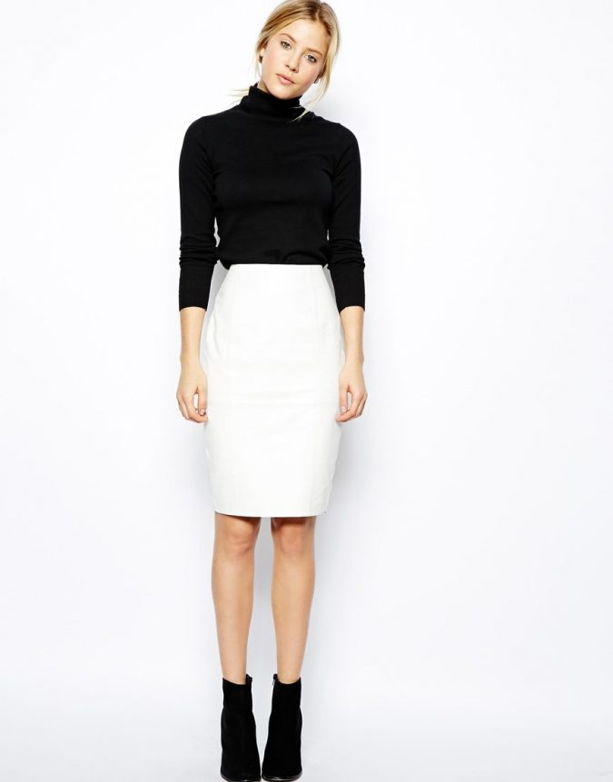 formal-skirt-675x861 20+ Hottest Teenages Job Interview outfit Ideas in 2021