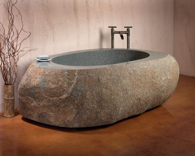 granite-bathtub2-675x540 6 Bathtub Designs that will Make your Jaw Drops!