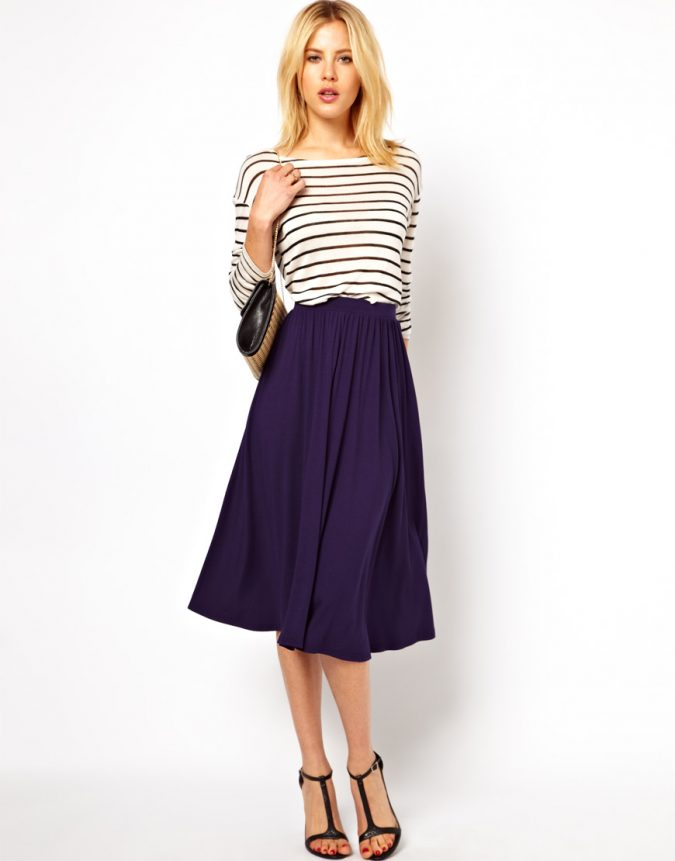 long-skirt3-675x861 18 Work Outfits Every Working Woman Should Have