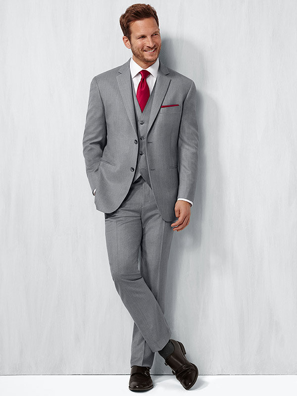 mens-wearhouse-suit 14 Splendid Wedding Outfits for Guys in 2017