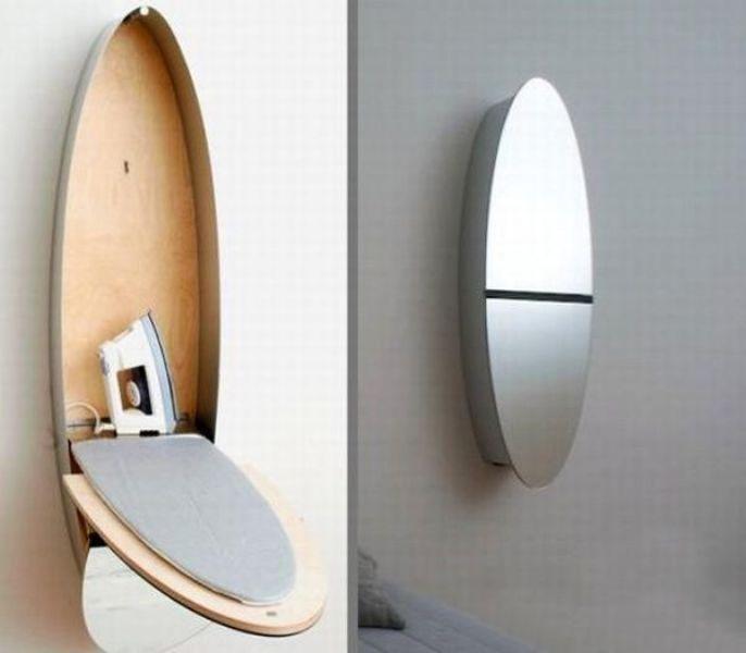 mirror-iron-table 83 Creative & Smart Space-Saving Furniture Design Ideas in 2018