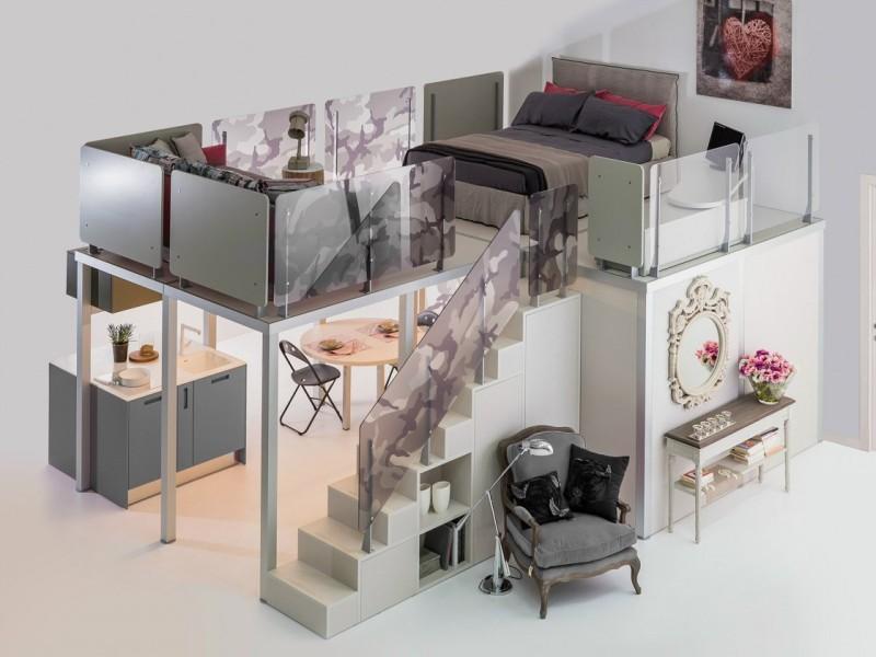 modern-space-saving-kids-bedroom-design 83 Creative & Smart Space-Saving Furniture Design Ideas in 2020