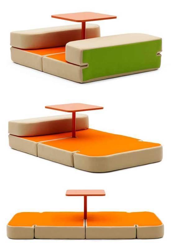 multifunctional-sofa 83 Creative & Smart Space-Saving Furniture Design Ideas in 2020