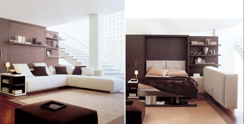 multipurpose-furniture-sofa-bed 83 Creative & Smart Space-Saving Furniture Design Ideas in 2020