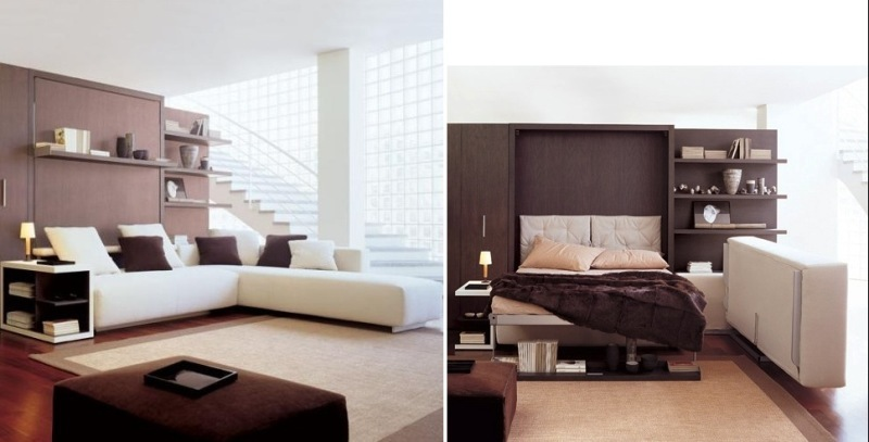 multipurpose-furniture-sofa-bed 83 Creative & Smart Space-Saving Furniture Design Ideas in 2018