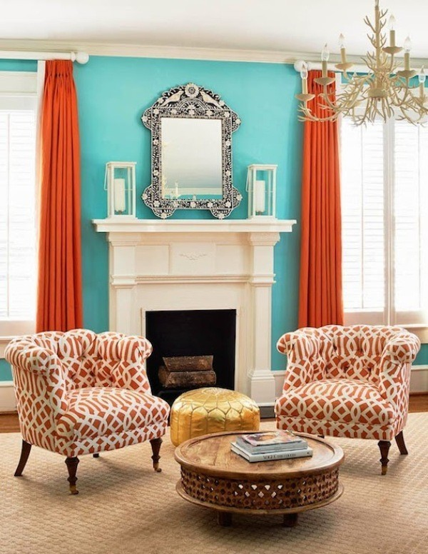 orange-2 Newest Home Color Trends for Interior Design in 2018
