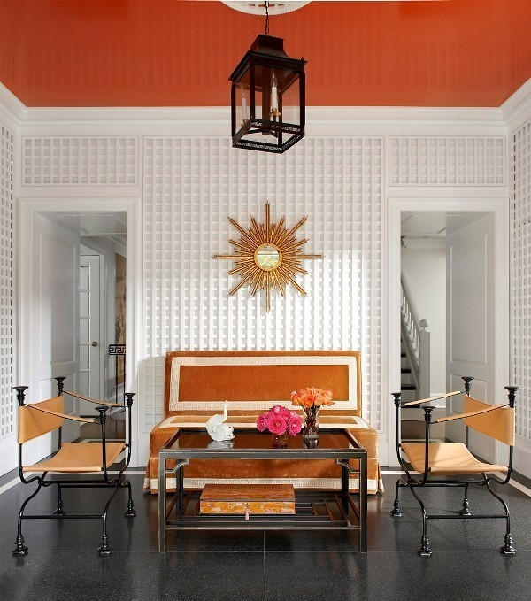 orange-3 Newest Home Color Trends for Interior Design in 2018