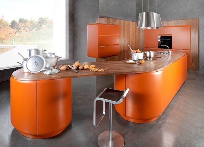orange-4 Newest Home Color Trends for Interior Design in 2017