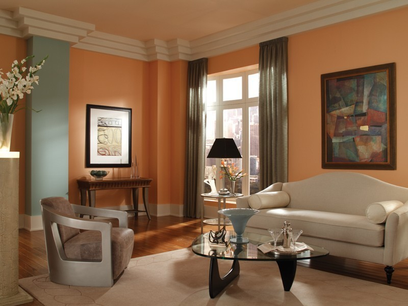 orange-6 Newest Home Color Trends for Interior Design in 2017