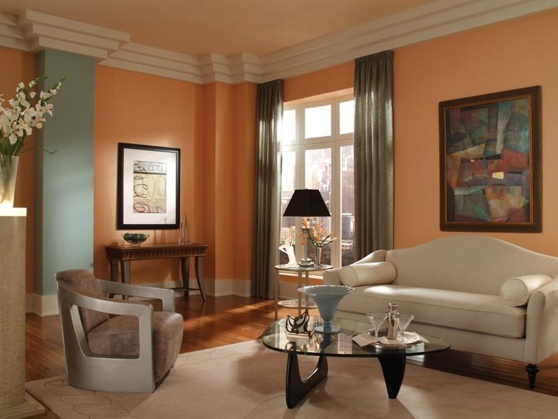 orange-6 +40 Latest Home Color Trends for Interior Design in 2021