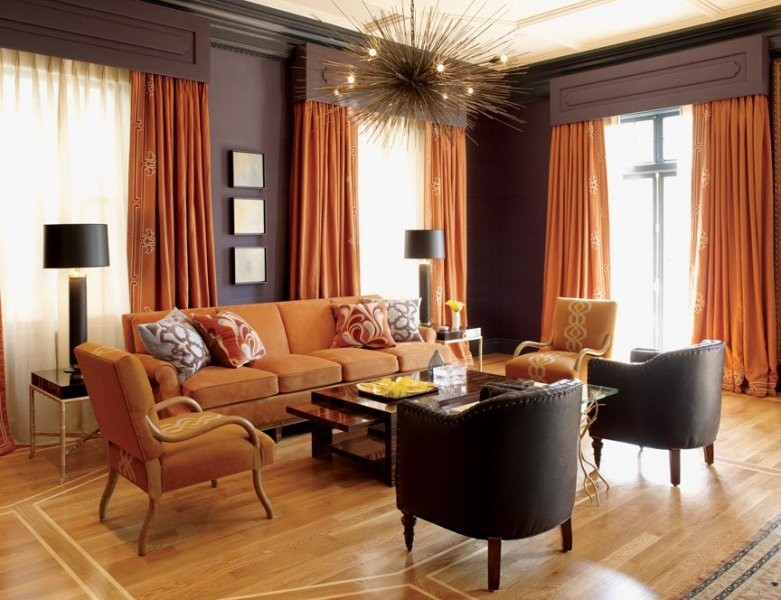 orange-8 Newest Home Color Trends for Interior Design in 2017