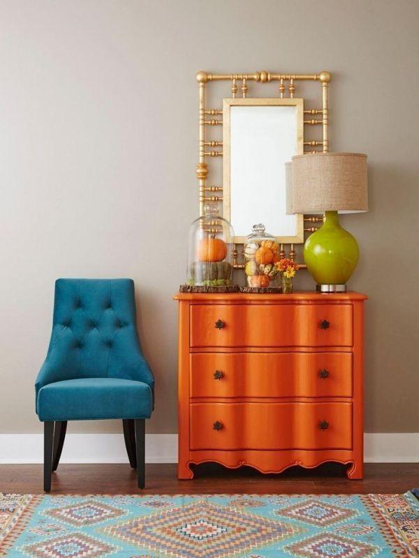 orange +40 Latest Home Color Trends for Interior Design in 2021
