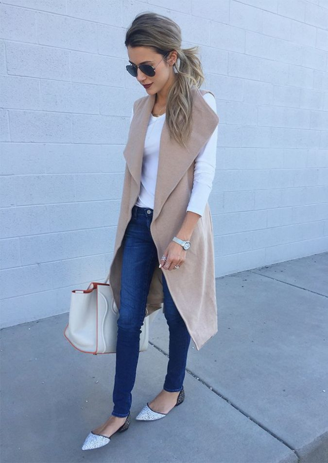 outfits-with-long-vests-675x951 18 Work Outfits Every Working Woman Should Have