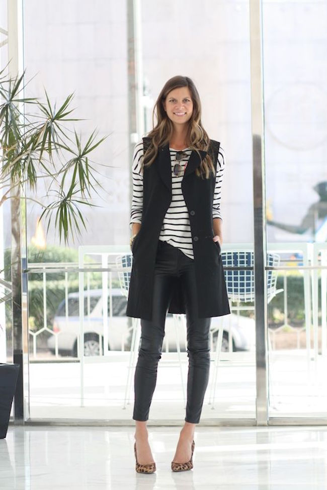 outfits-with-long-vests2 18 Work Outfits Every Working Woman Should Have